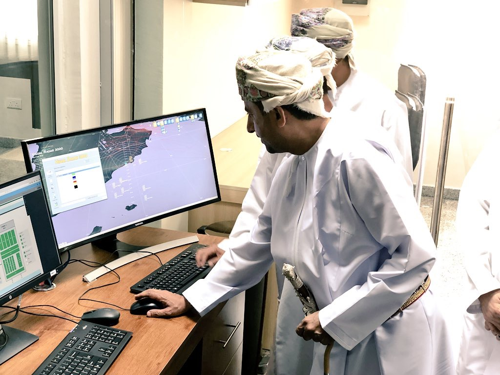 Launch of the Air Navigation radar at Salalah Airport