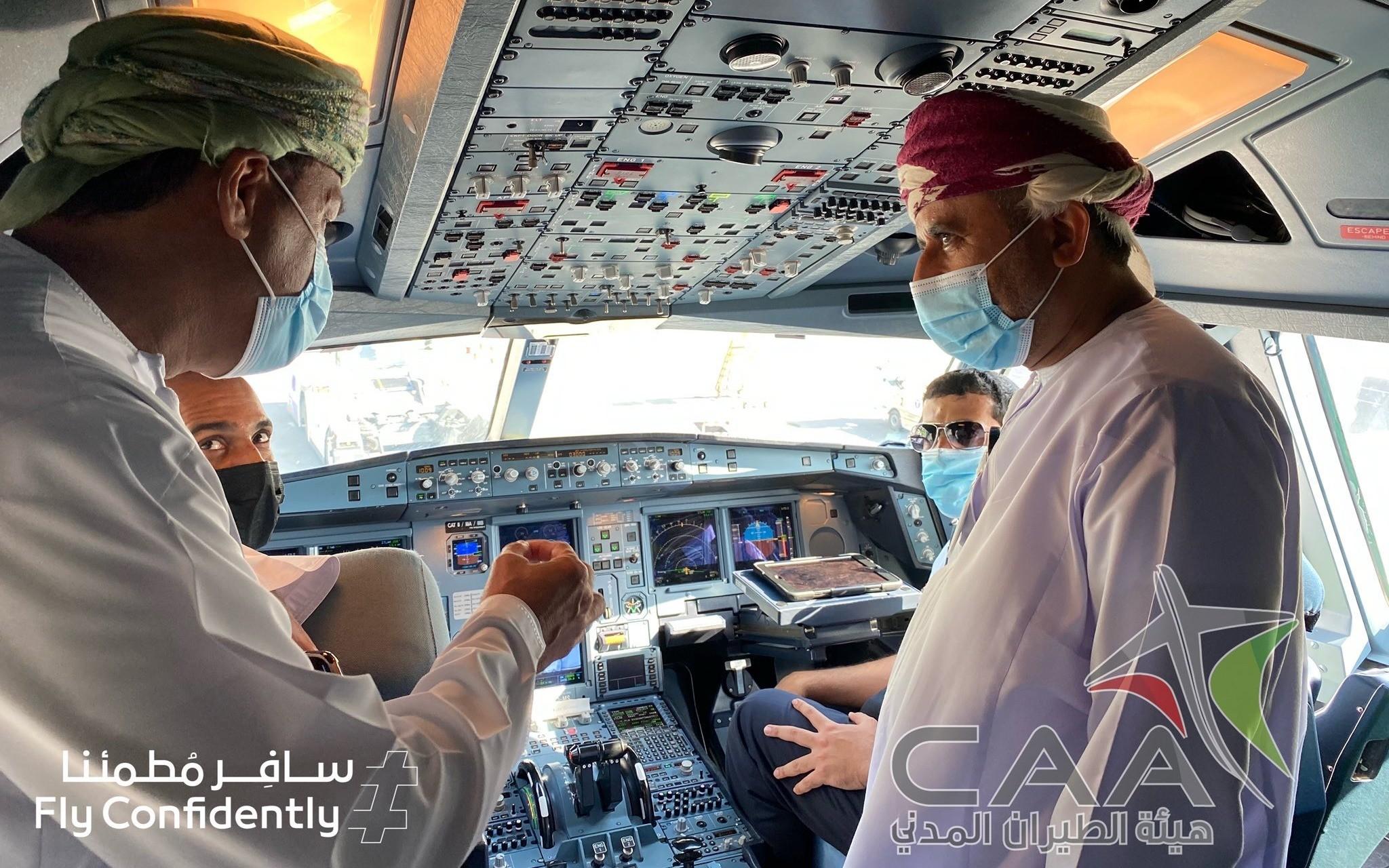 مطار مسقط الدولي يُباشر استقبال المسافرين