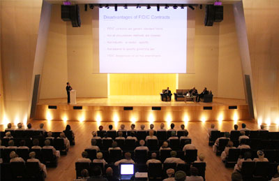 Seminar on (FIDIC) contracts and international arbitration