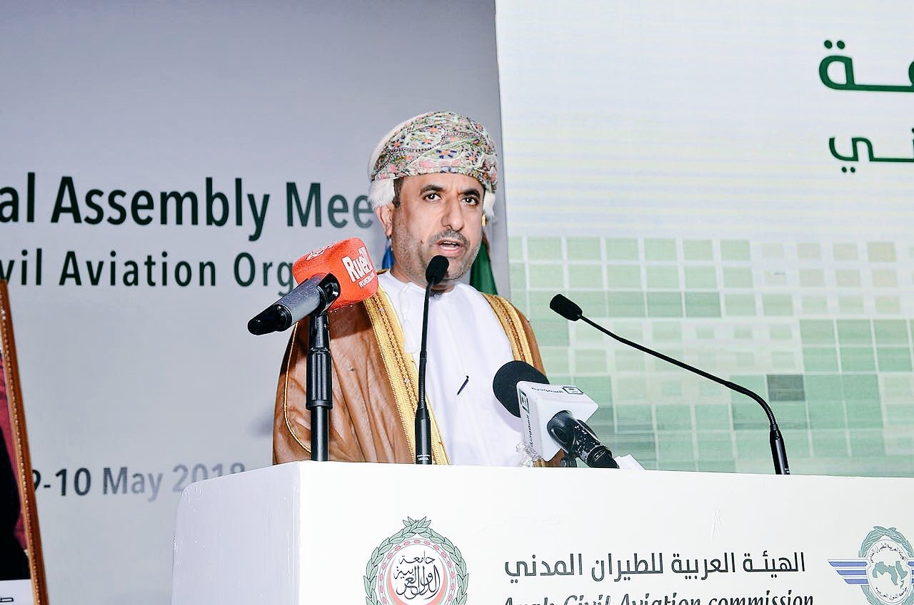 The participation of the Sultanate in 58th Session of the Executive Council and 24th Meeting of the General Assembly of the Arab Civil Aviation Authority