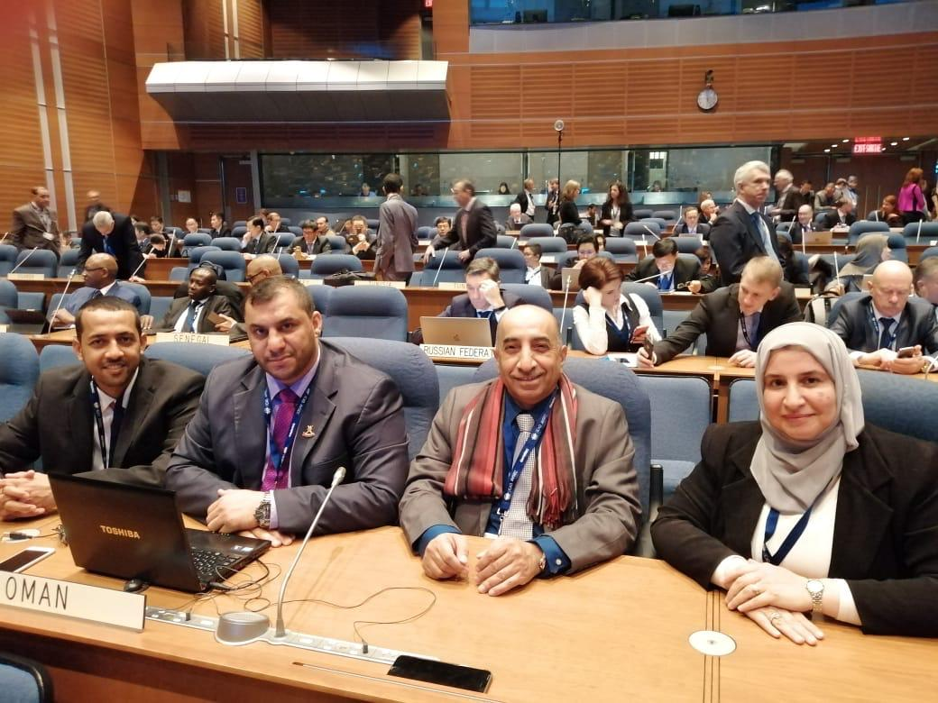The Sultanate's participation in the events of Aviation Security Week in Montreal Canada during the period (26-30) November 2018