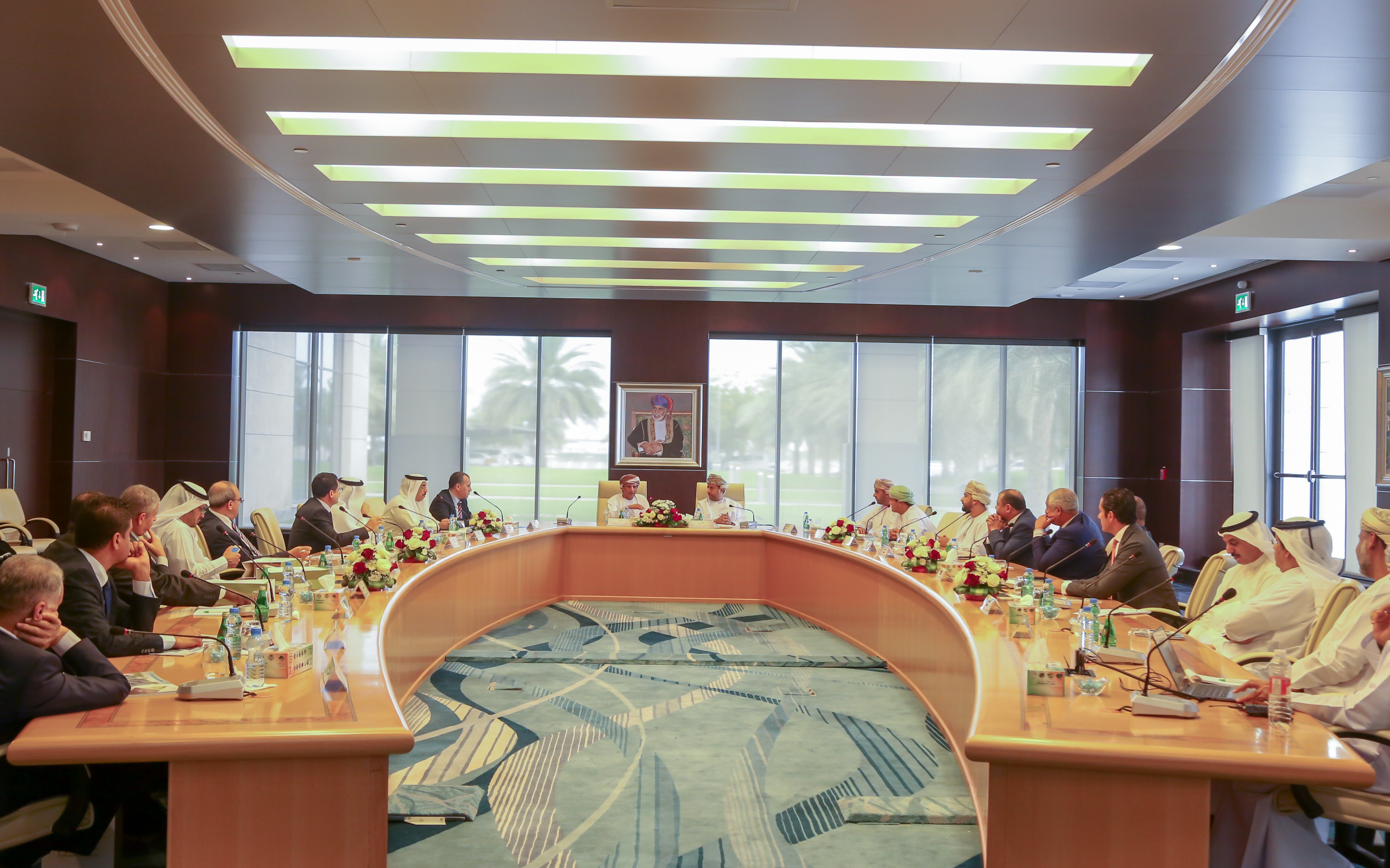 Visit of Arab Ambassadors to the Public Authority for Civil Aviation